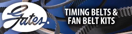 gates fan belts Car Components