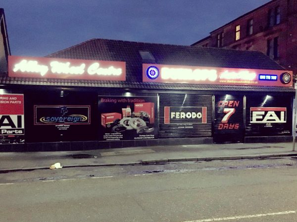 dunlops auto shop shettleston